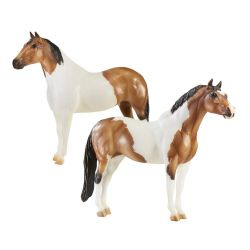 Breyer Traditional 1822 - Kuce The Gangsters - Tony Da Pony & Bugsy Maloney