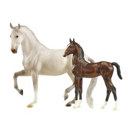 Breyer Traditional 1827 - Favory Airiella - klacz i źrebię